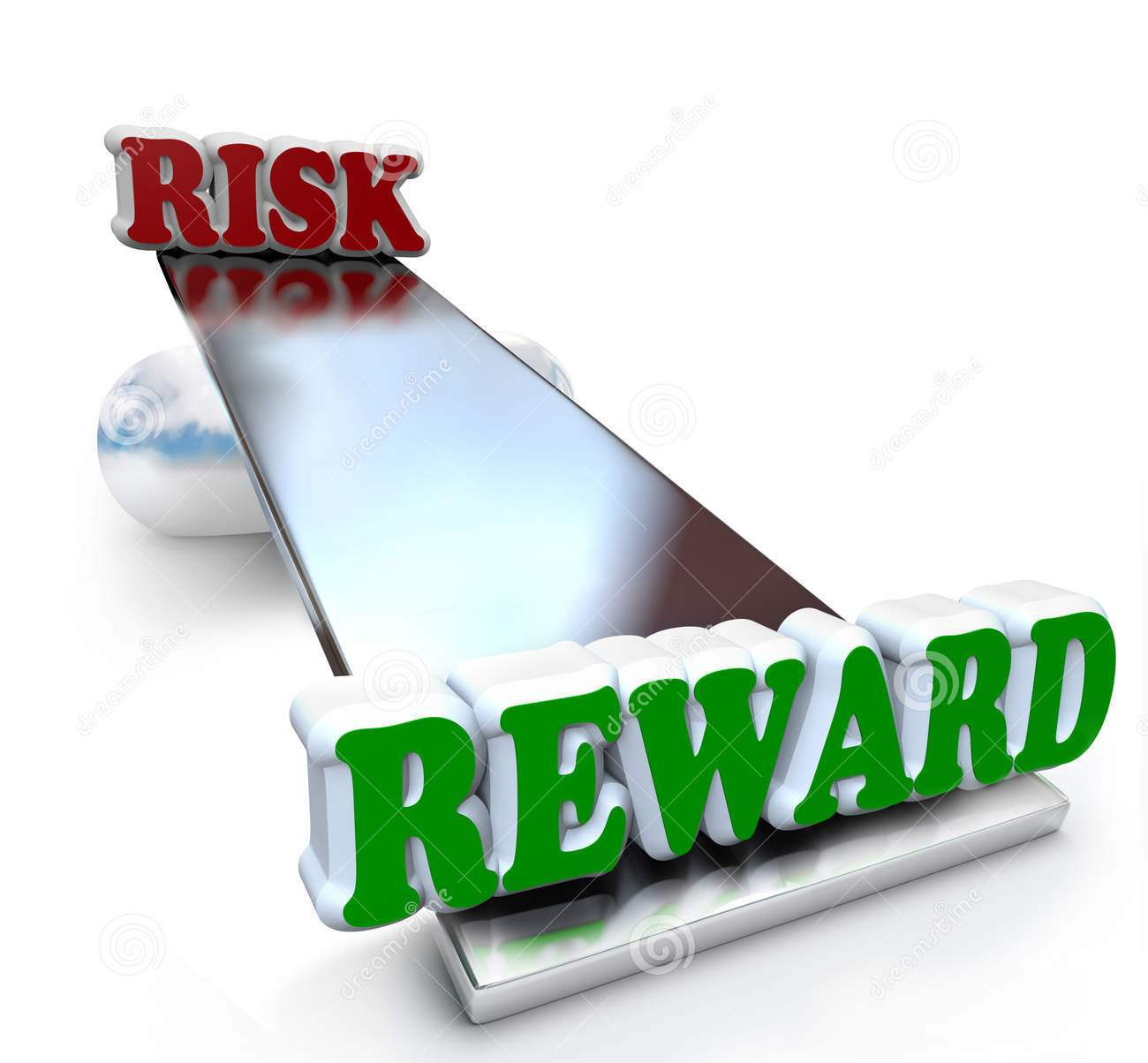 Risk v reward - Nette crop the bottom part so only the picture